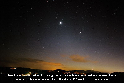 Zodiakálne svetlo