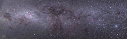 From Southern cross to Sirius
