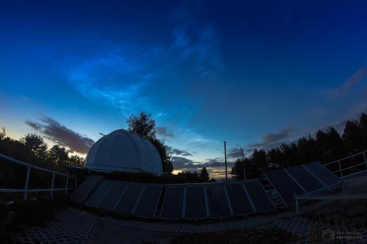 Noctilucent clouds 2013