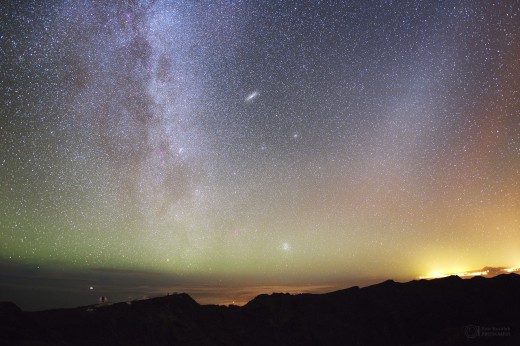 Two colors of airglow