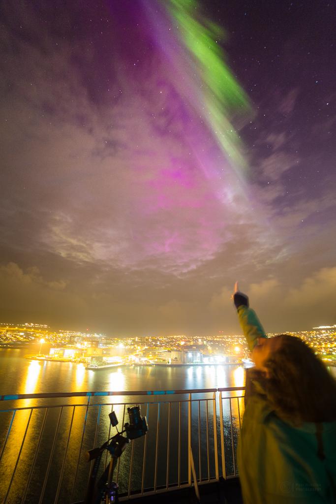 Touch the aurora!