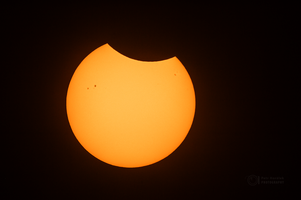 The Botswana partial eclipse