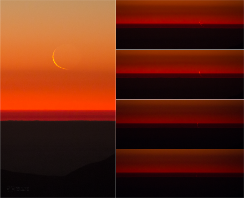 Swimming Moon in sequence