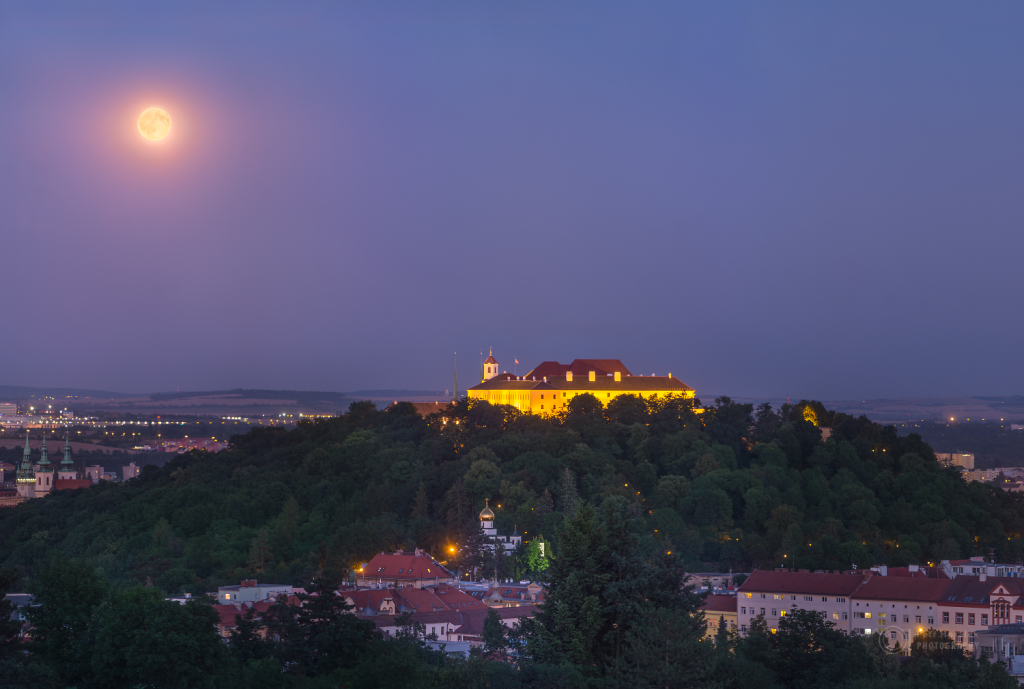 Armstrong's Full Moon over Brno