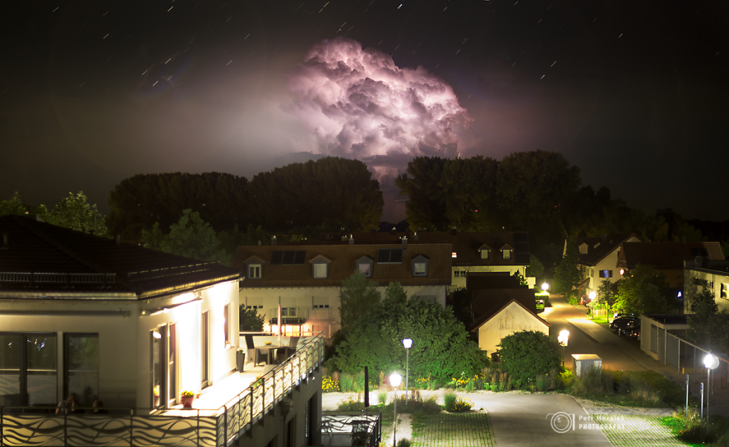 The stormy boletus over Garching
