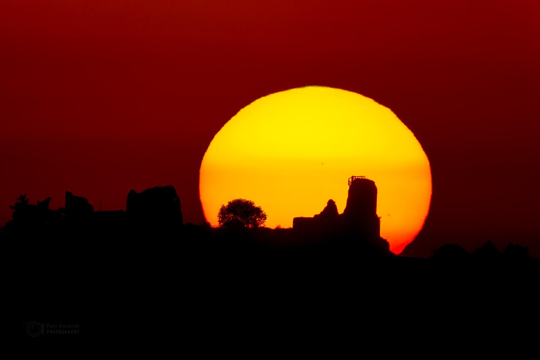 The Lichnice sunset