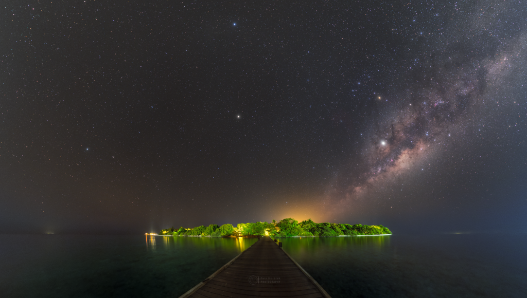 Soneva Fushi and Milky Way