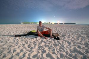 At Sandbank by the moonlight