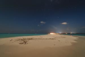 Full Moon sky at Sandbank