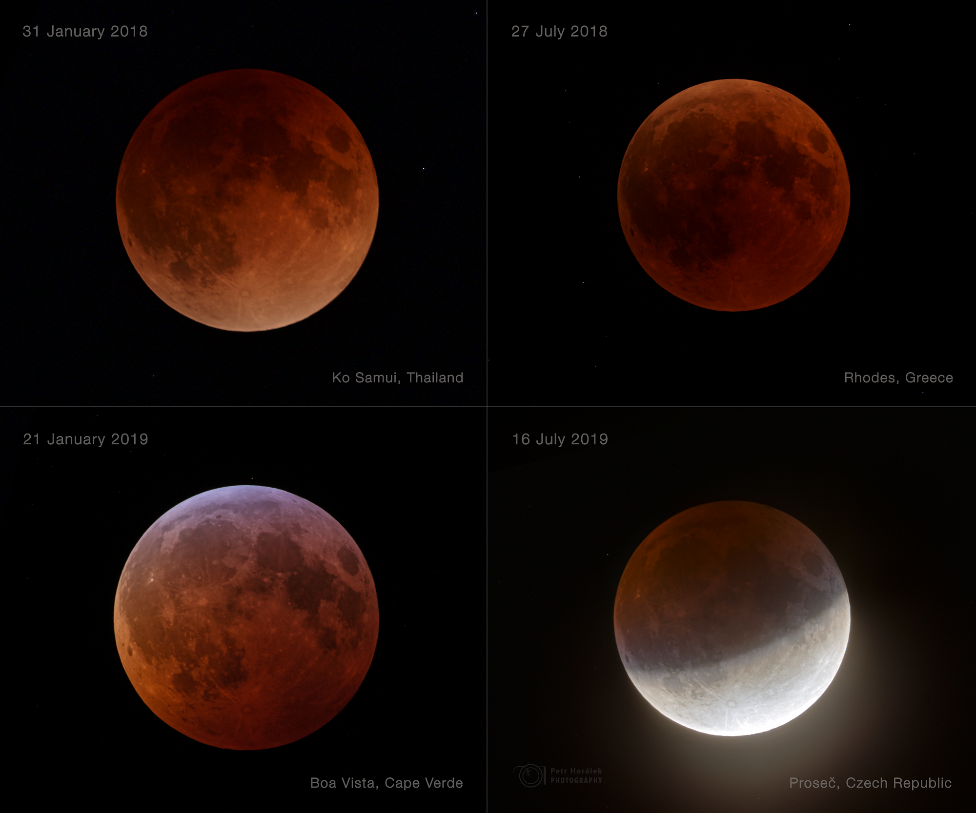 Lunar Eclipses Collection