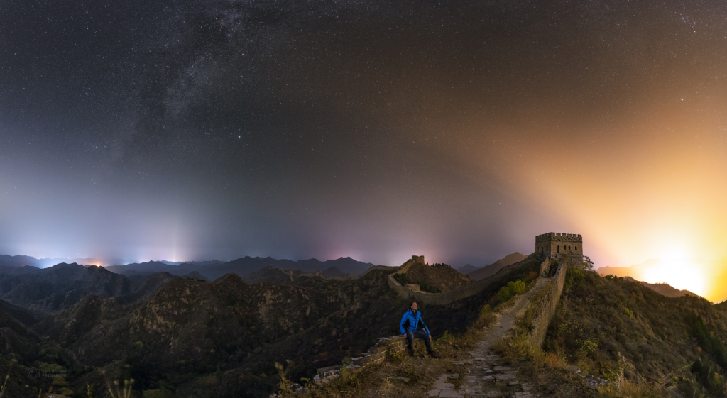 Stargazing on the Great Wall