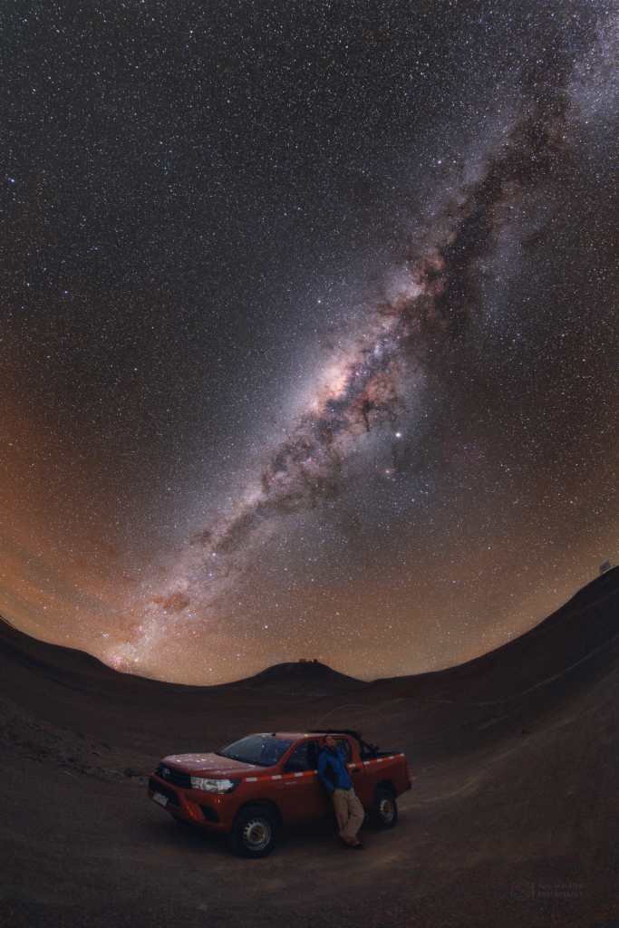 Shadows cast by the Milky Way?
