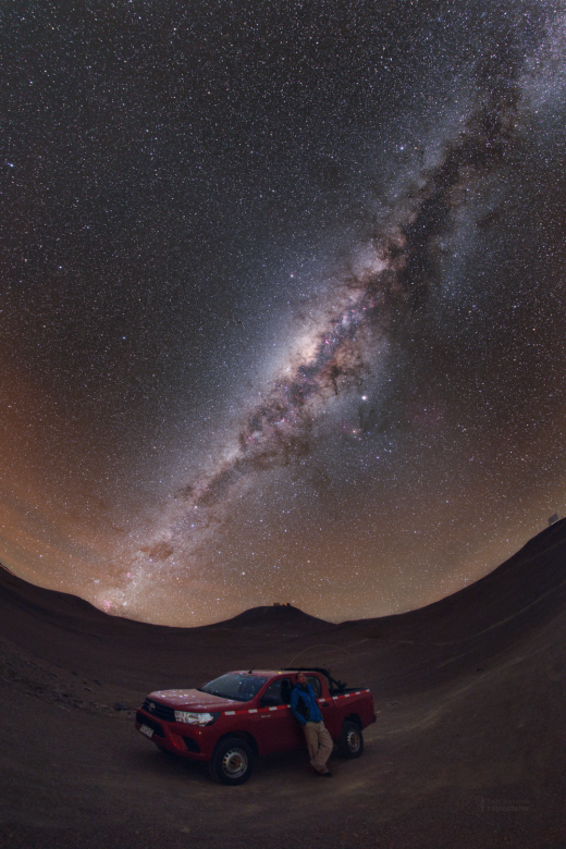 Can you see the Milky Way's shadow?