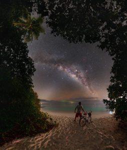 Vesmírný výhled z ráje