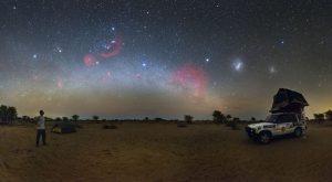 Podmanivá noc v Kalahari