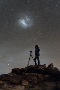 Fotograf pod galaxiíPod galaxií