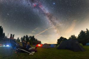 Pozorování padajících hvězd