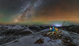 Pod hvězdami v Tibetu