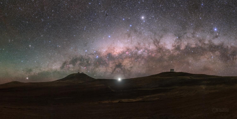 Planetary Beacon over Atacama Desert