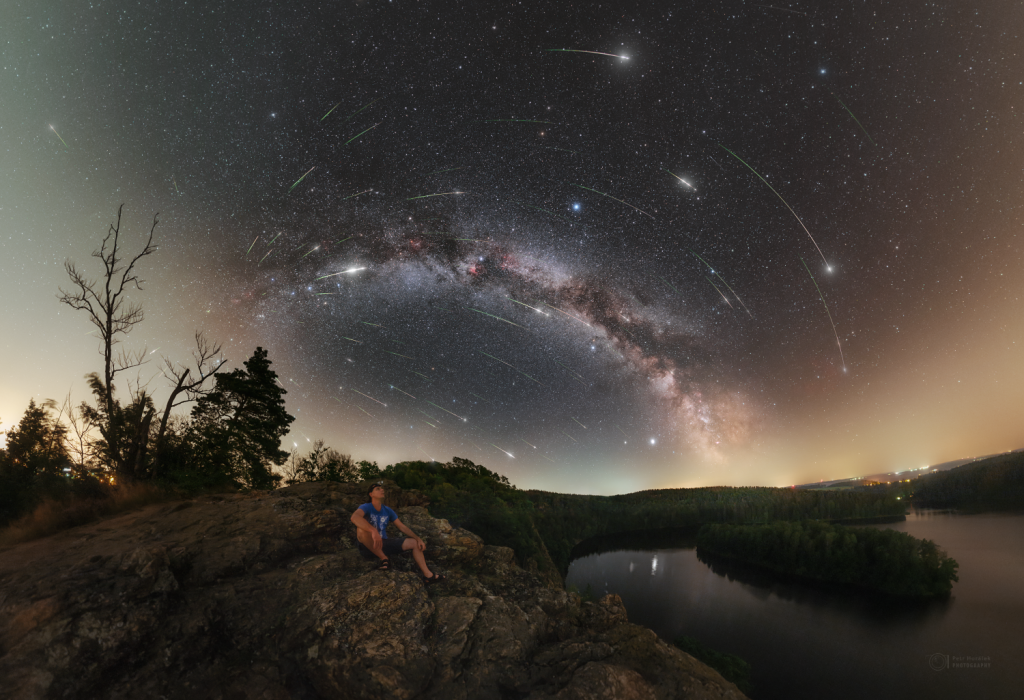 Immersive Perseid Night
