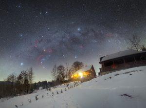 Zimní pohádka Oravské Lesné