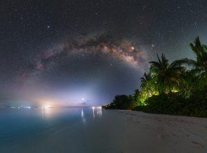 Mléčná dráha nad rájem