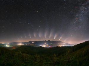 Proměny komety NEOWISE nad Tatrami
